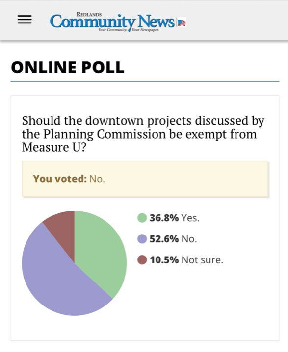 Poll showing 52% oppose exemption